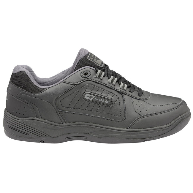 White-Navy - Front - Gola Mens Belmont WF Wide Fit Sneakers-Trainers