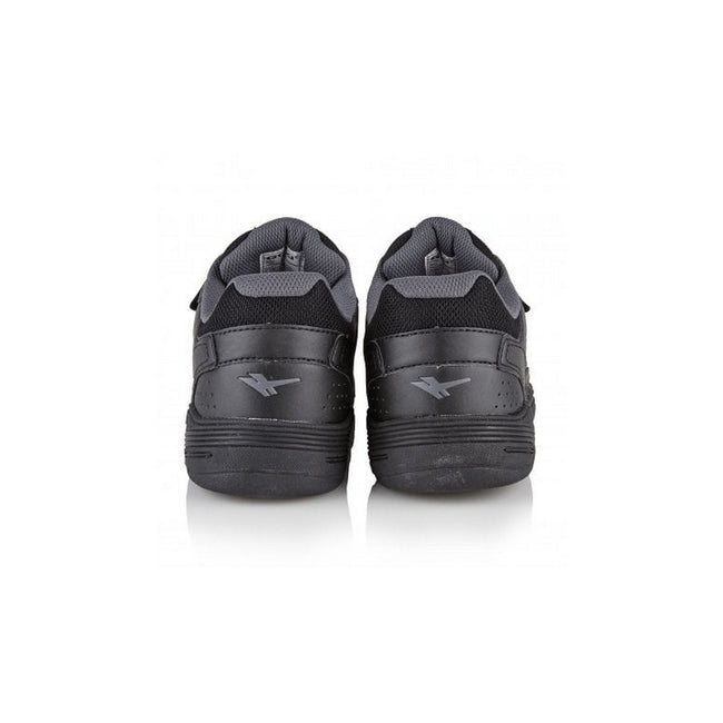 Black-Black - Side - Gola Sport Childrens Boys Belmont Touch Fastening Trainers