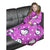 Pink - Front - Childrens-Kids Girls Hello Kitty Sleeved Fleece Snuggle Blanket