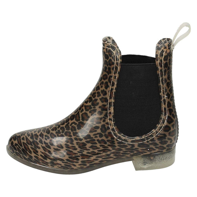 Leopard - Lifestyle - Spot On Girls Ankle Wellington Boots