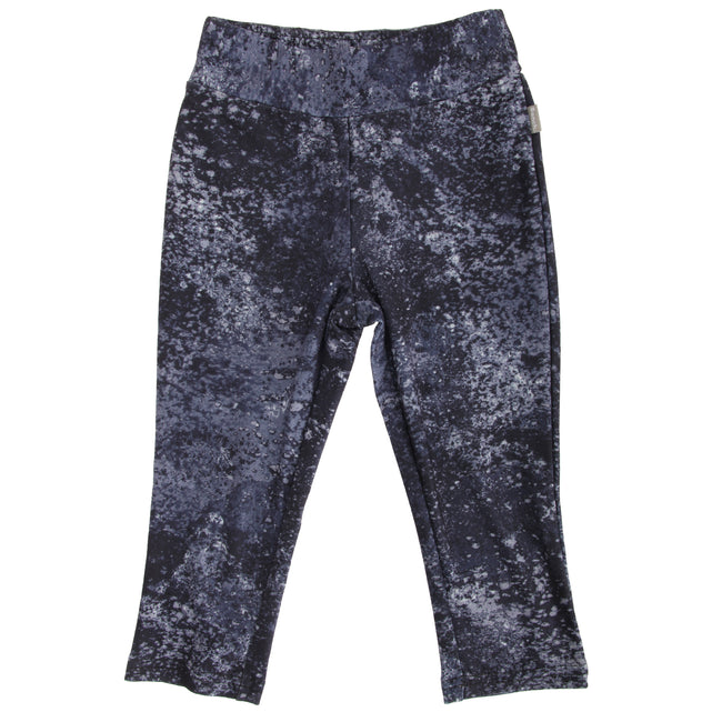 Gray-Black - Front - Bench Childrens-Girls First-Rate Sporty Leggings