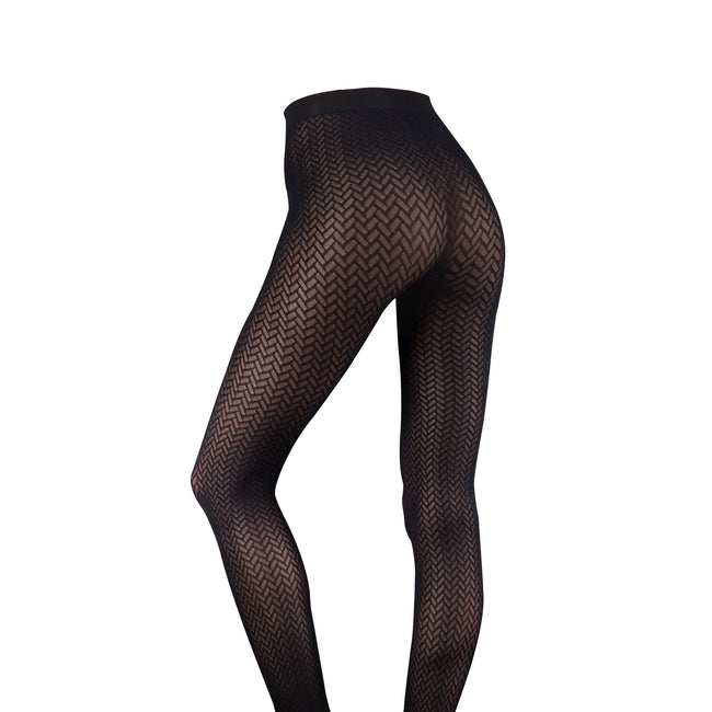 Barely Black - Catherine - Back - Couture Womens-Ladies Ultimates Tights (1 Pair)