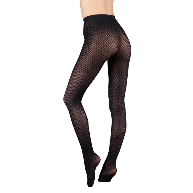 Barely Black - Catherine - Front - Couture Womens-Ladies Ultimates Tights (1 Pair)