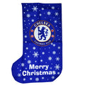 Blue - Front - Chelsea FC Novelty Christmas Jumbo Present Stocking