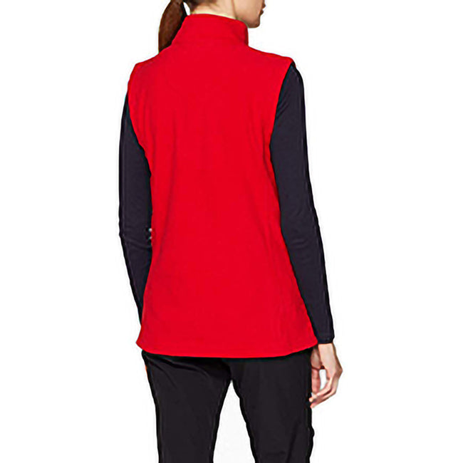 Classic Red - Pack Shot - Regatta Womens-Ladies Micro Fleece Bodywarmer - Gilet