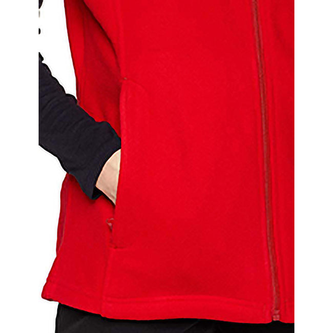 Classic Red - Back - Regatta Womens-Ladies Micro Fleece Bodywarmer - Gilet