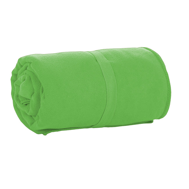 Apple Green - Back - SOLS Atoll 70 Microfiber Bath Towel