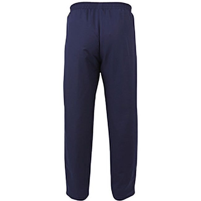 Navy-White - Back - Canterbury Mens Team Water Resistant Track Trousers