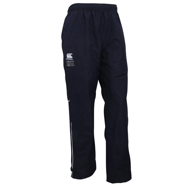 Navy-White - Front - Canterbury Mens Team Water Resistant Track Trousers