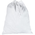 White - Side - Towel City Cotton Laundry Bag
