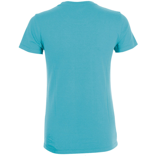 Orchid Pink - Back - SOLS Womens-Ladies Regent Short Sleeve T-Shirt