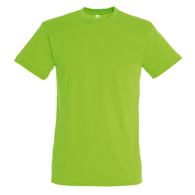 Lime - Front - SOLS Mens Regent Short Sleeve T-Shirt