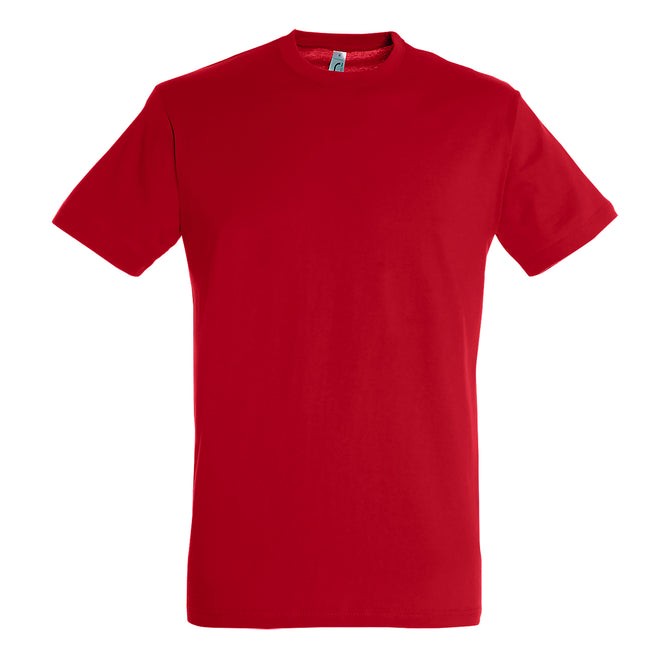 Red - Front - SOLS Mens Regent Short Sleeve T-Shirt