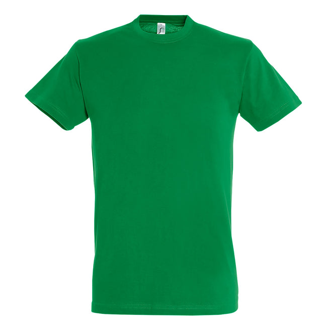 Kelly Green - Back - SOLS Mens Regent Short Sleeve T-Shirt
