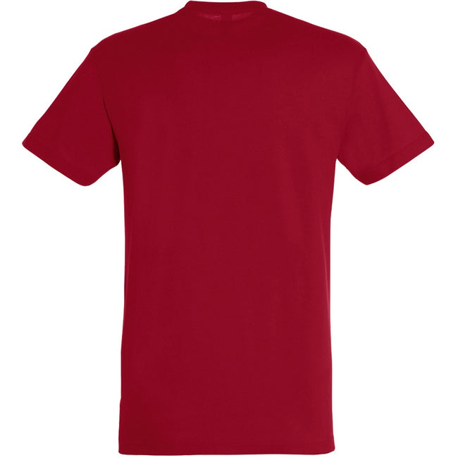 Tango Red - Back - SOLS Mens Regent Short Sleeve T-Shirt