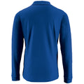 Royal Blue - Back - SOLS Mens Perfect Long Sleeve Pique Polo Shirt