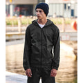 Black - Back - Regatta Pro Mens Packaway Waterproof Breathable Jacket