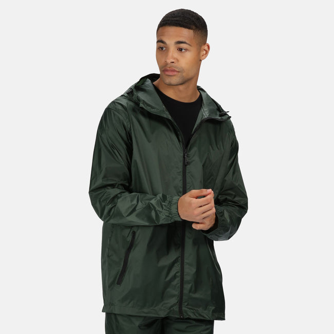 Laurel - Back - Regatta Pro Mens Packaway Waterproof Breathable Jacket