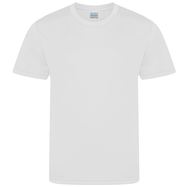 Arctic White - Front - AWDis Childrens-Kids Cool Smooth T-Shirt