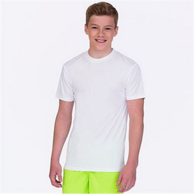 Arctic White - Back - AWDis Childrens-Kids Cool Smooth T-Shirt