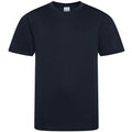 French Navy - Front - AWDis Childrens-Kids Cool Smooth T-Shirt