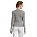 Khaki - Front - SOLS Womens-Ladies Majestic Long Sleeve T-Shirt