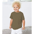 Olive Triblend - Side - Canvas Childrens Unisex Tri-Blend T-Shirt