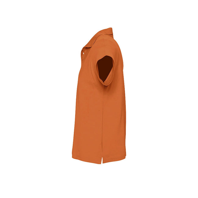 Army - Front - SOLS Mens Summer II Pique Short Sleeve Polo Shirt