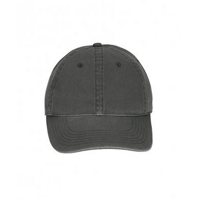 Graphite - Front - Comfort Colors Unisex Adults Direct Dyed Cap