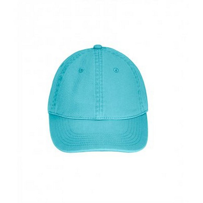 Lagoon Blue - Front - Comfort Colors Unisex Adults Direct Dyed Cap