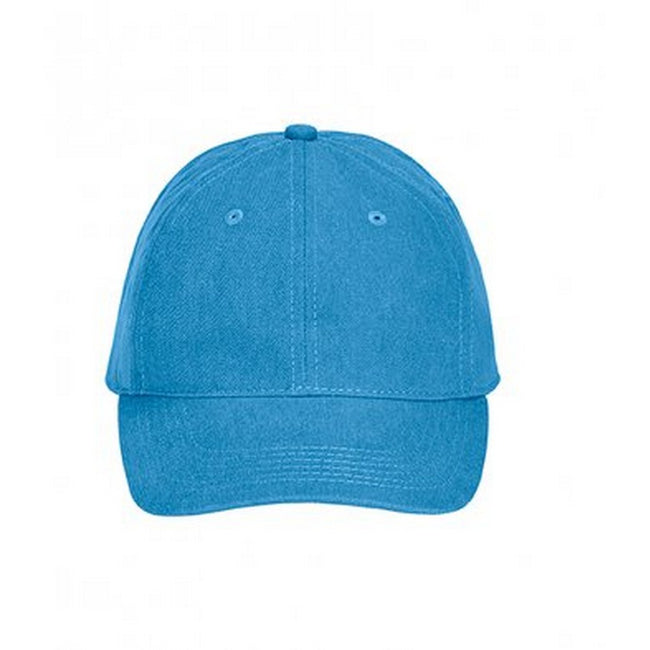 Royal Caribe - Front - Comfort Colors Unisex Adults Pigment Dyed Cap