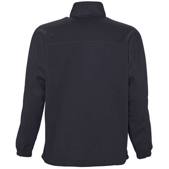 Charcoal - Front - SOLS Ness Unisex Zip Neck Anti-Pill Fleece Top