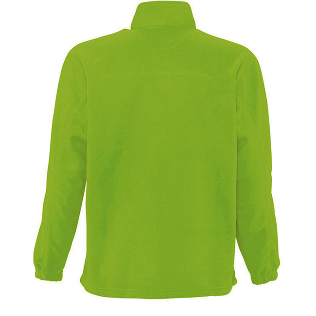 Forest Green - Side - SOLS Ness Unisex Zip Neck Anti-Pill Fleece Top