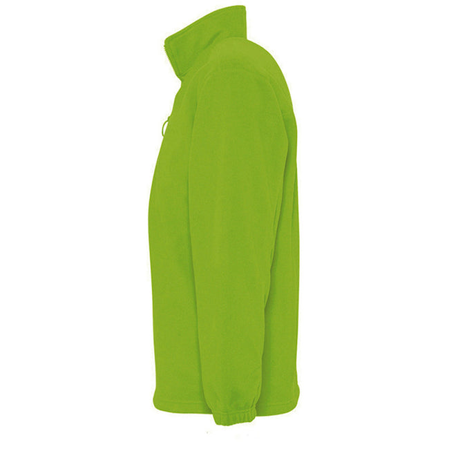Forest Green - Lifestyle - SOLS Ness Unisex Zip Neck Anti-Pill Fleece Top