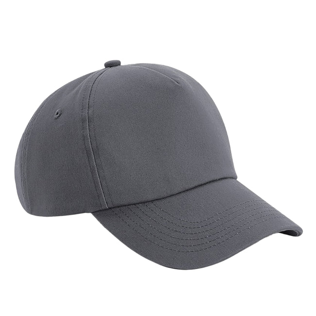 Graphite Gray - Front - Beechfield Authentic 5 Panel Cap