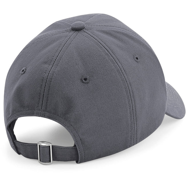 Graphite Gray - Back - Beechfield Authentic 5 Panel Cap