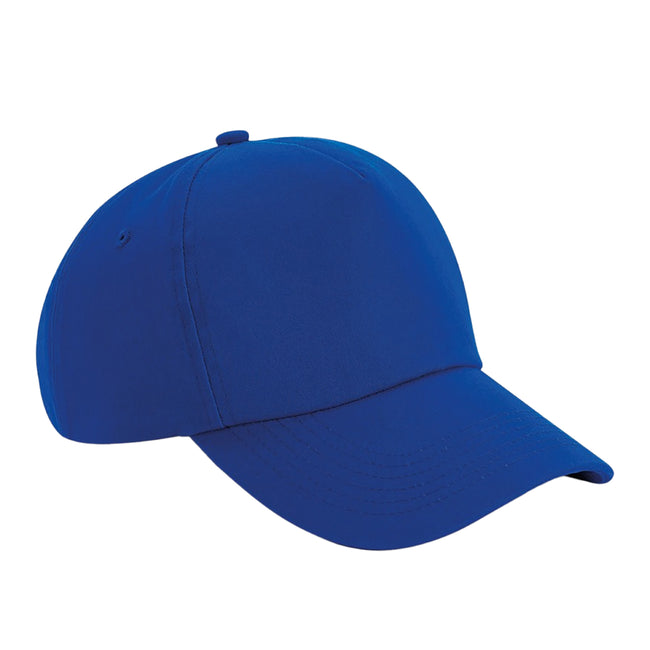Bright Royal - Front - Beechfield Authentic 5 Panel Cap