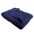 French Navy - Front - SOLS Island Bath Sheet - Towel (40 X 60 inches)