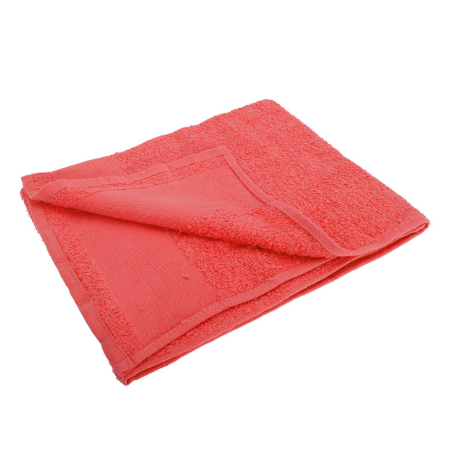 Red - Front - SOLS Island 50 Hand Towel (20 X 40 inches)