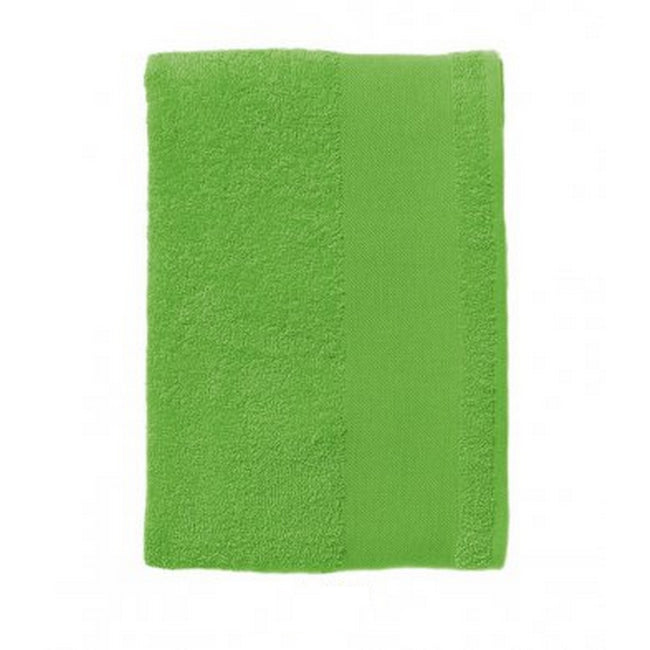 Lime - Front - SOLS Island 50 Hand Towel (20 X 40 inches)