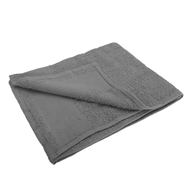 Dark Grey - Front - SOLS Island 50 Hand Towel (20 X 40 inches)