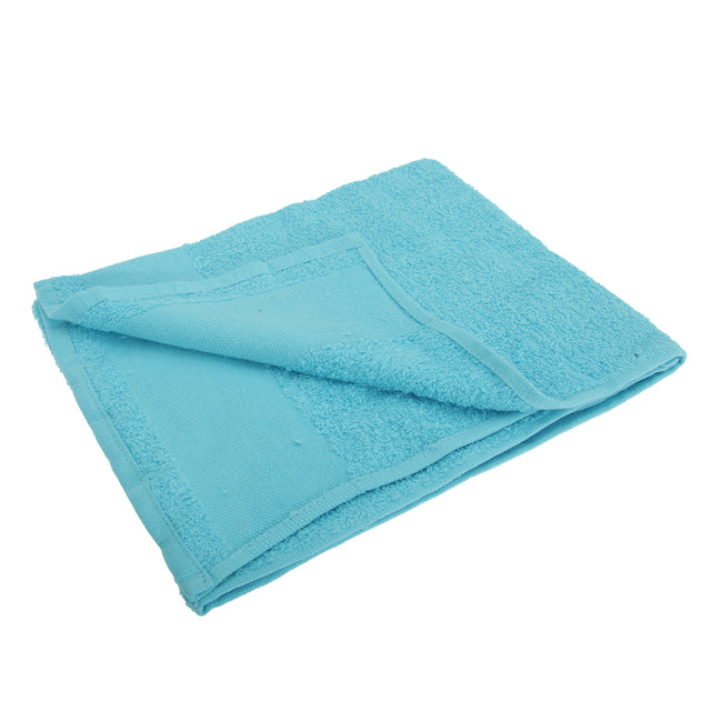 Turquoise - Front - SOLS Island 50 Hand Towel (20 X 40 inches)