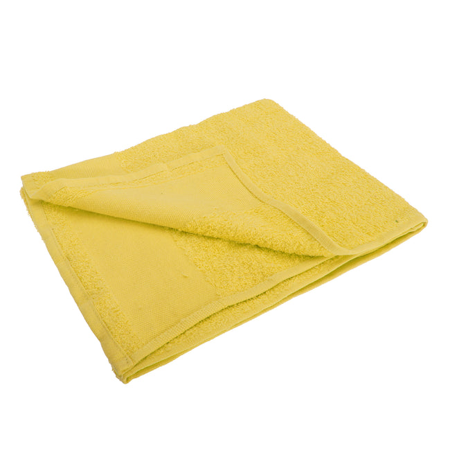 Lemon - Front - SOLS Island 50 Hand Towel (20 X 40 inches)