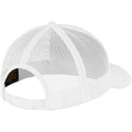 White - Back - Flexfit Unisex Retro Trucker Cap
