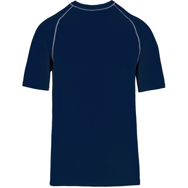 Sporty Navy - Front - Proact Childrens-Kids Surf T-Shirt