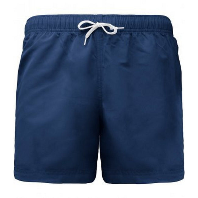Sporty Navy - Front - Proact Adults Unisex Swimming Shorts