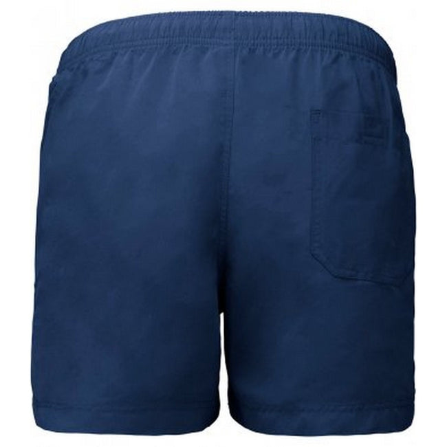 Sporty Navy - Back - Proact Adults Unisex Swimming Shorts