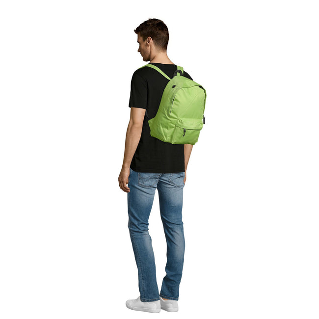 Black - Front - SOLS Rider Backpack - Rucksack Bag