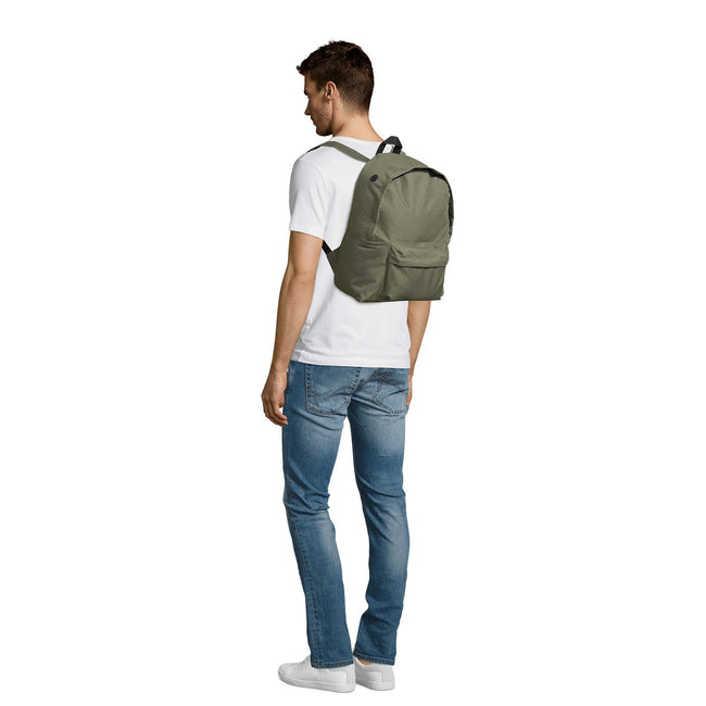 French Navy - Front - SOLS Rider Backpack - Rucksack Bag