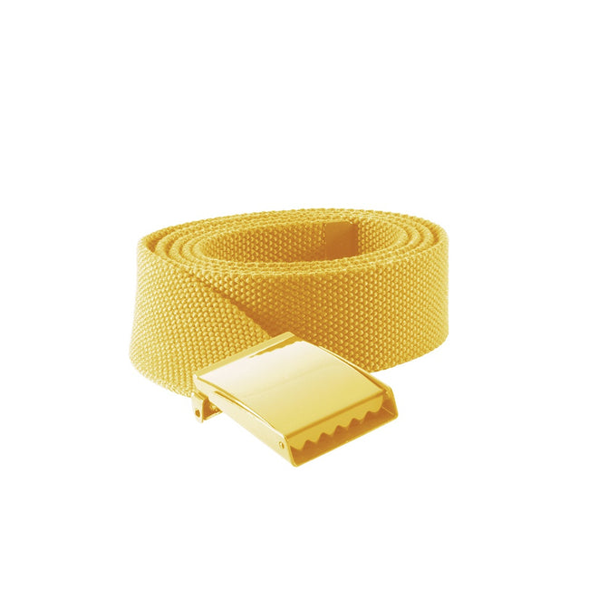 Yellow - Front - K-UP Polyester Belt